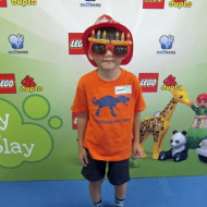 Noey the Builder at the Lego Duplo Kids' Event