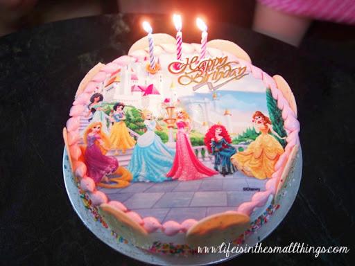 D Princess Birthday Cakes Singapore
