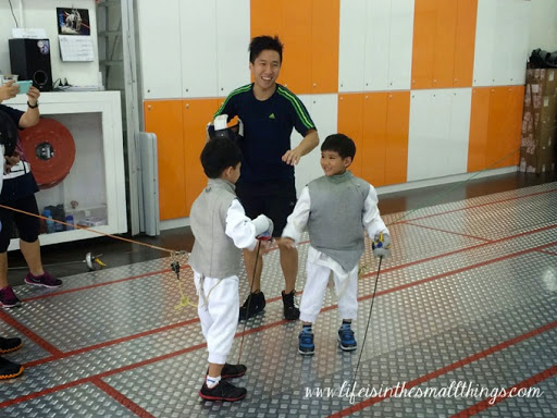 Crossing Swords at Absolute Fencing