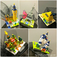 Those Nanoblock Fascinators and the Singapore Blog Awards 2014