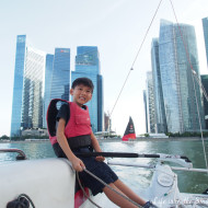 Sailing Marina Bay with DBS