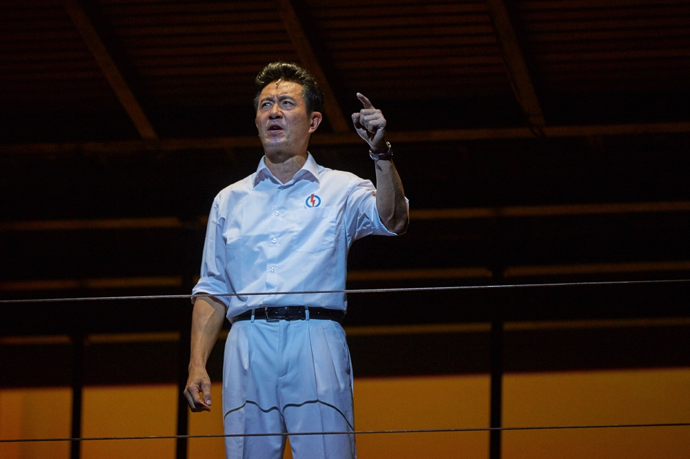 Adrian Pang in The LKY Musical 2