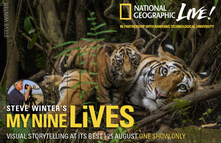 National Geographic Live with Steve Winter