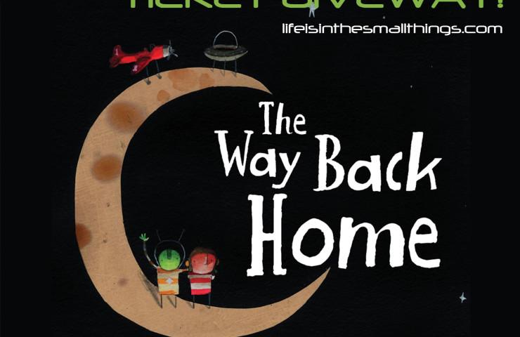 Oliver Jeffer's The Way Back Home — on Stage! {Giveaway}