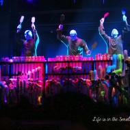 Experiencing Life in Full Colour with The Blue Man Group