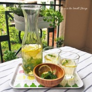 Honey Lemon Mint Tea