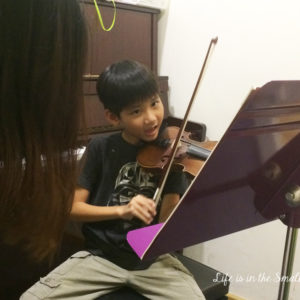 Experiments with the Violin at Aureus Academy