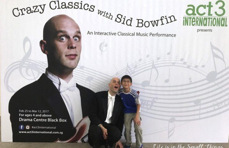 Enjoying Crazy Classics with Sid Bowfin