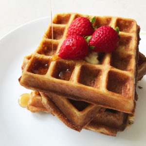 Easy Yummy Crisp Fluffy Waffles
